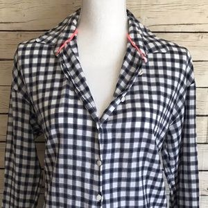 Love MNG Plaid Button-Up